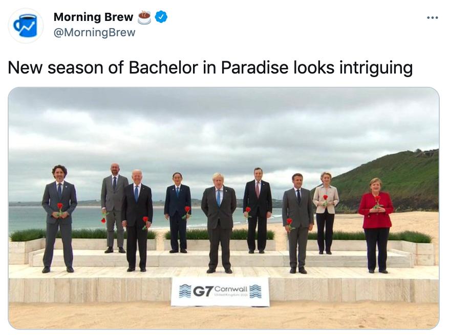 G7 leaders meme