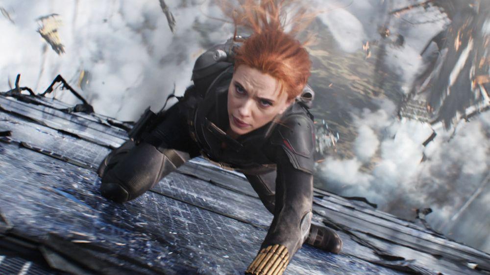 Black Widow scene