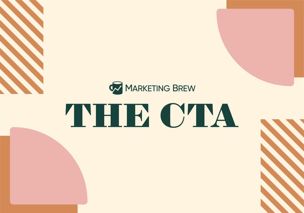 Marketing Brew's The CTA logo