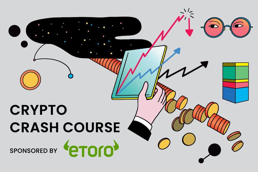Illustration for Crypto Crash Course