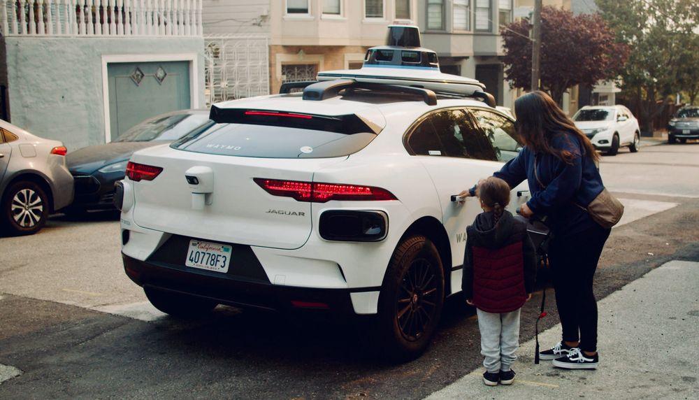 self-driving autonomous vehicle robotaxi driverless