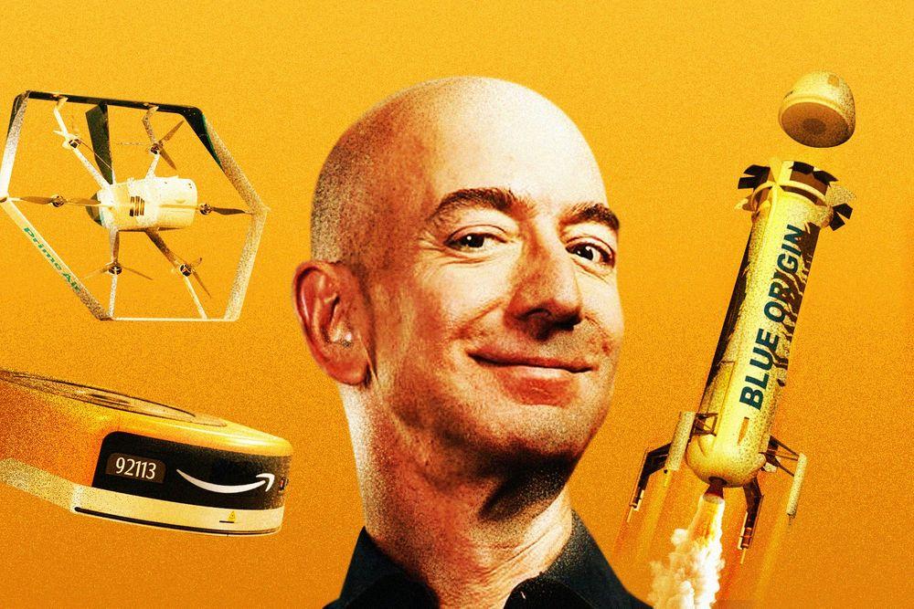 Bezos rocketry