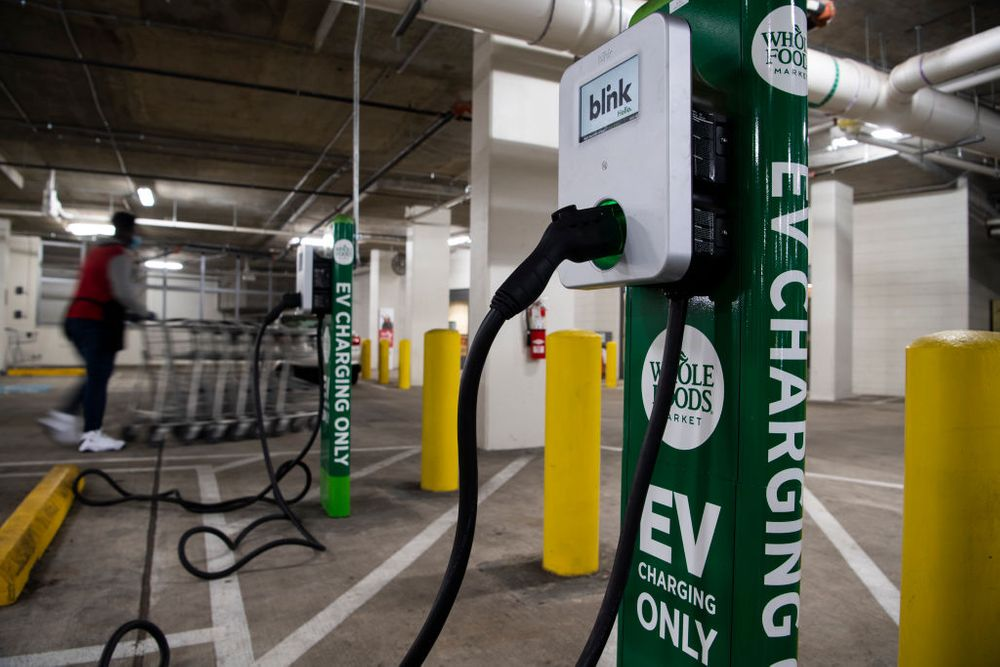EV charging infrastructure electric vehicle