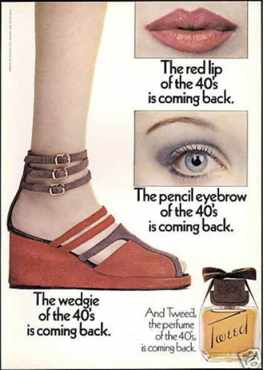 vintage Tweed ad