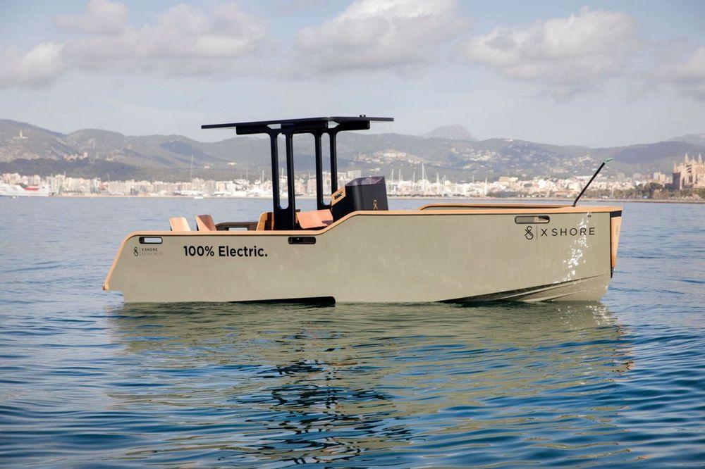 EV electric boat x shore sweden