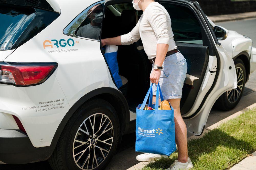argo ford self driving car