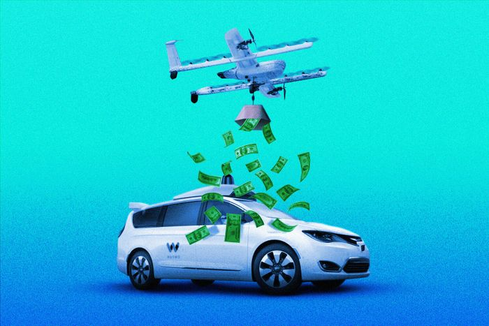 Alphabet's Waymo self-driving minivan raising money