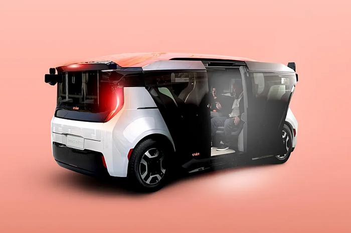 Cruise Origin self-driving shared shuttle