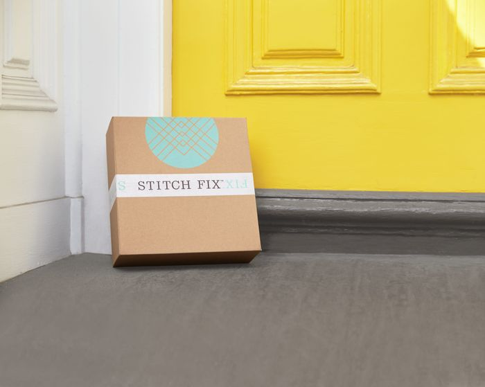 Stitch Fix Box on Doorstep