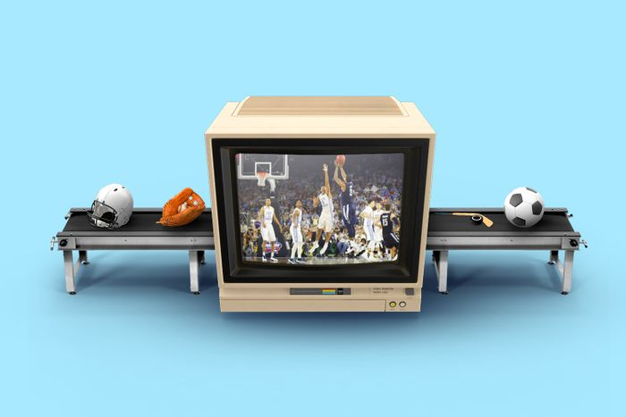 Sports TV ads