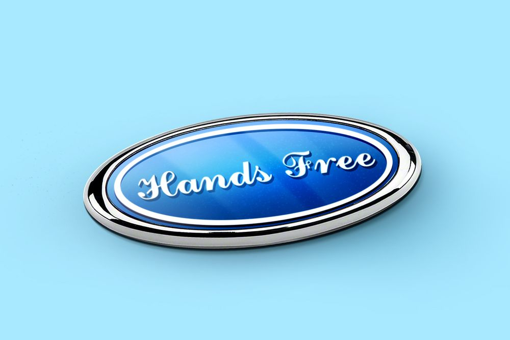 Ford logo no-hands