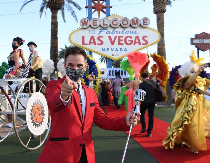 Las Vegas mask showcase