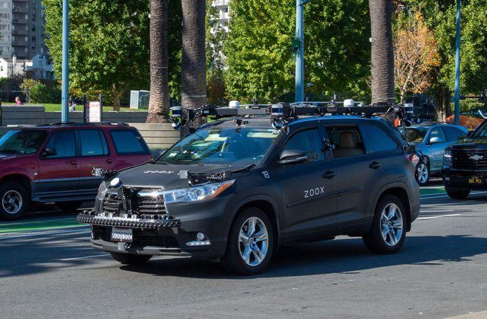Zoox SUV