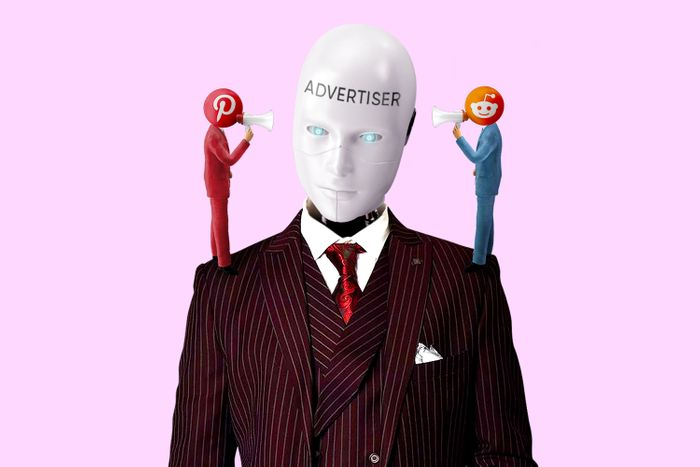 advertiser reddit pinterest