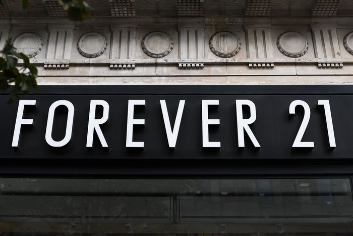 A fashion retail Forever 21 store is pictured in in London on September ...