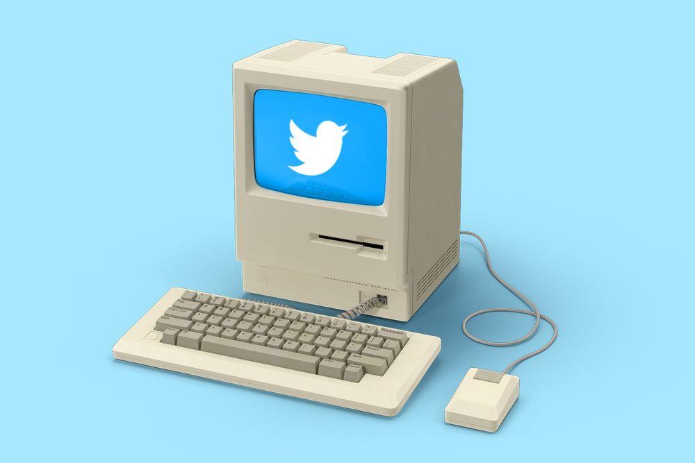 Twitter Follows computer