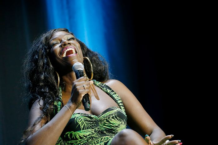 CANNES, FRANCE - JUNE 19:  Bozoma Saint John speaks onstage during the W...