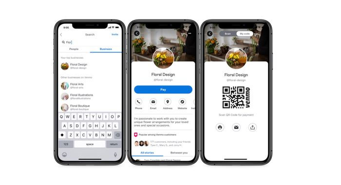 Business Profiles by Venmo