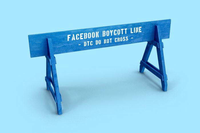DTC Facebook boycott
