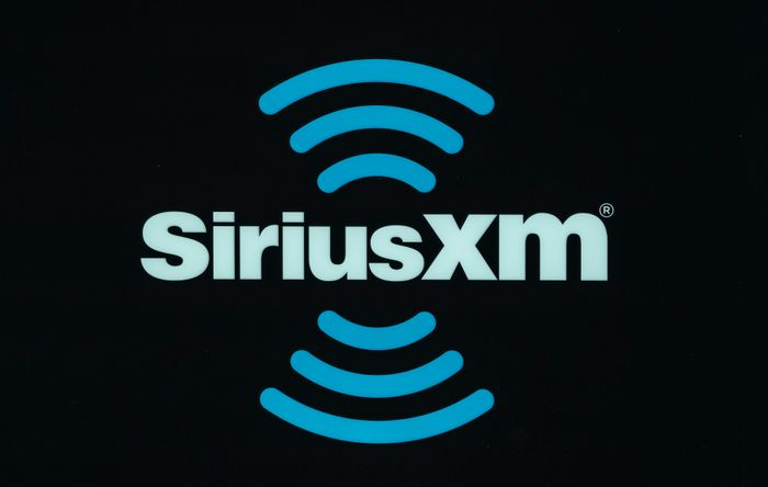 INDIANAPOLIS, IN - MARCH 1: A SiriusXM logo is seen at the 2019 NFL Comb...