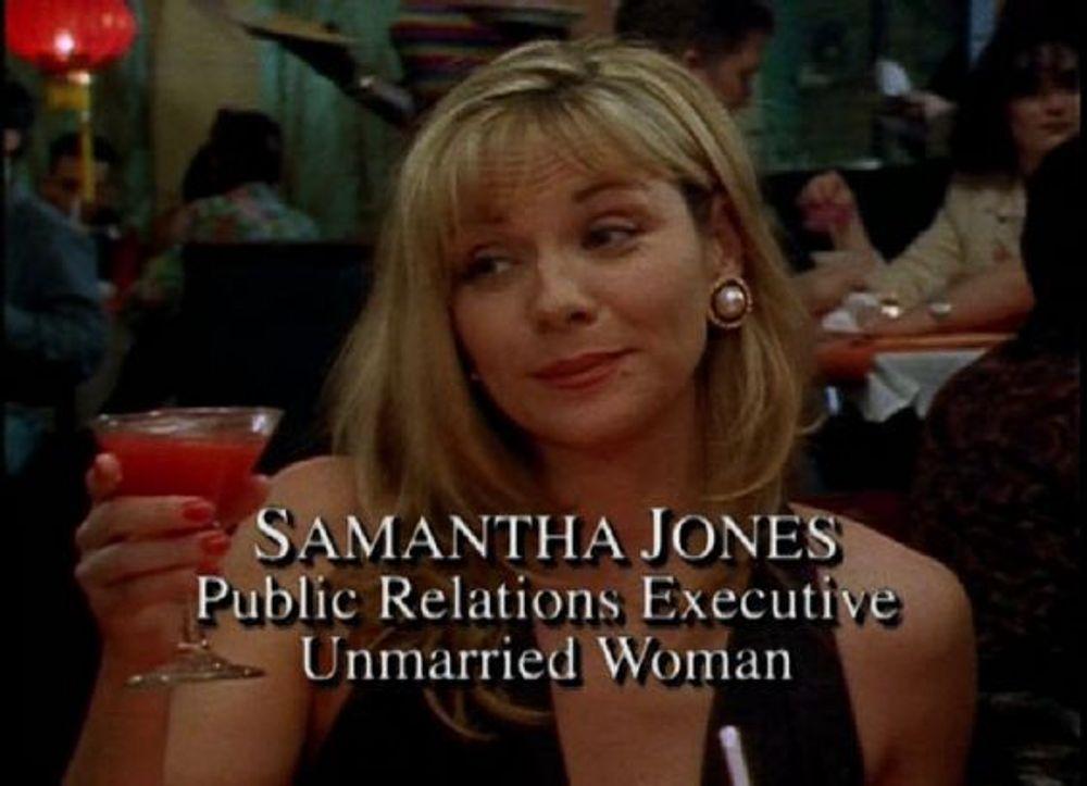 PR Samantha jones sex and the city