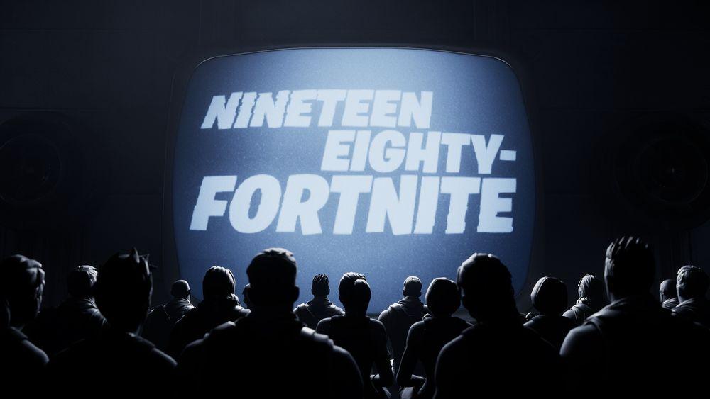 Fortnite's in-game anti-Apple ad
