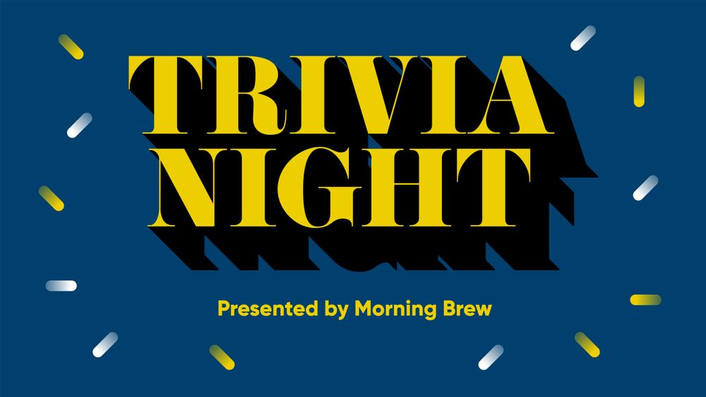 Trivia night by morning brew