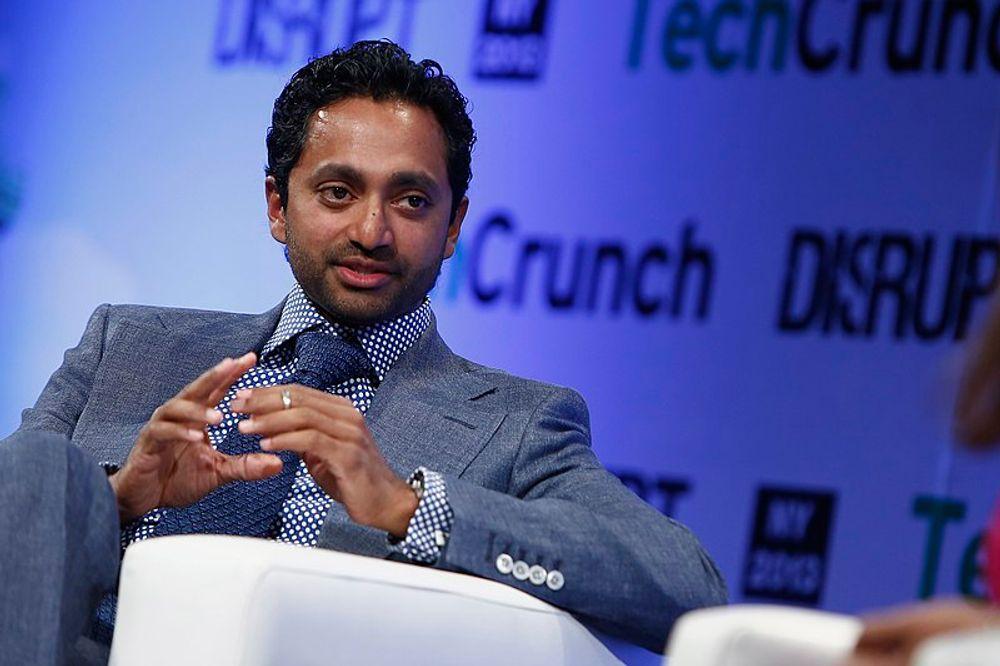 Chamath Palihapitiya of Social Capital Partnership speaks onstage at the TechCrunch Disrupt NY.