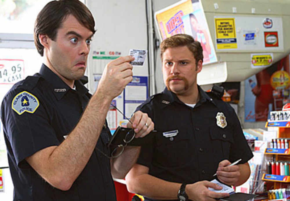 Cops in Superbad