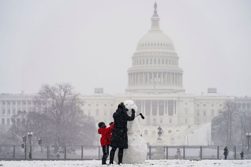 Snowstorm in DC