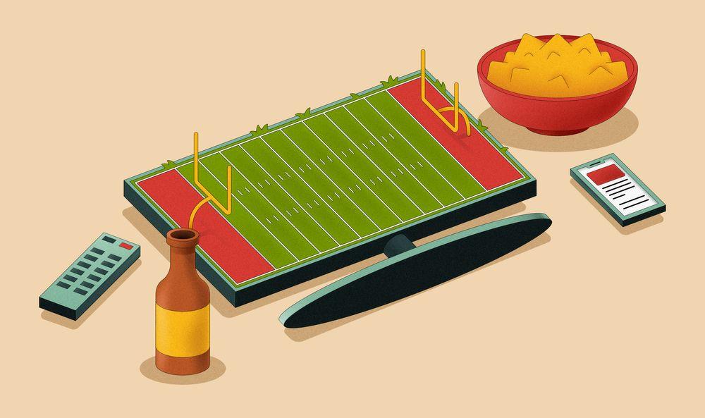 Super Bowl illustration
